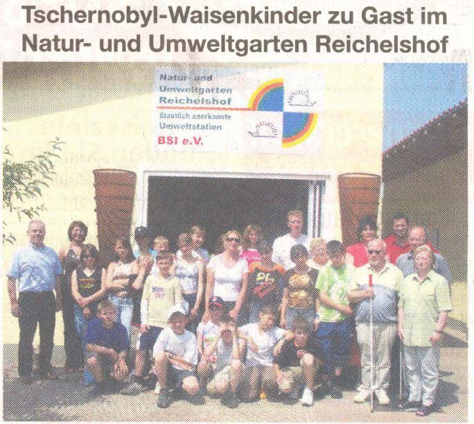 tschernobyl-waisenkinder zu gast