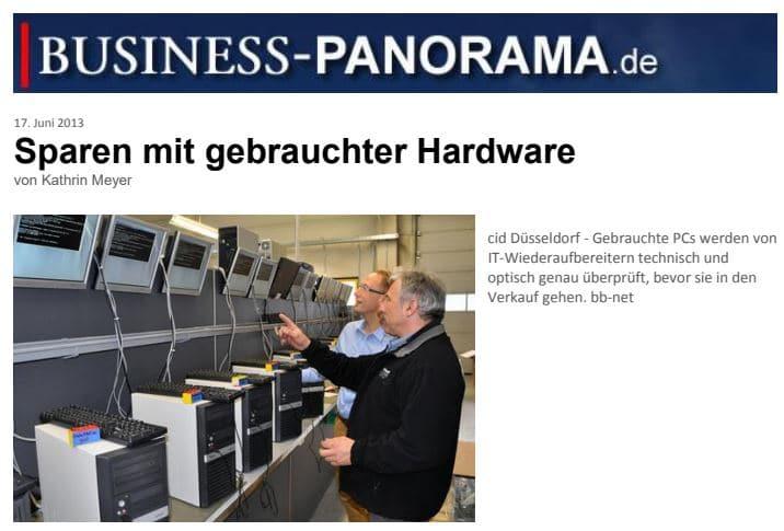 bespaar op gebruikte hardware