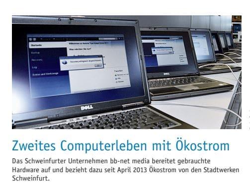 zweites computerleben mit ökostrom