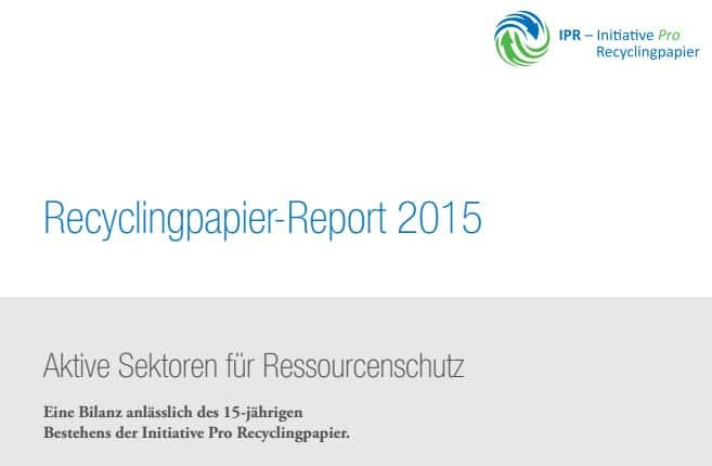 IPR Recyclingpapier-Report