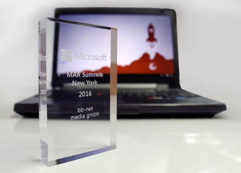 Auszeichnung MAR 2016