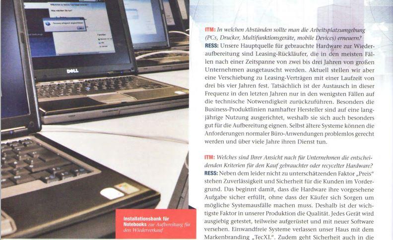 Entretien IT Mittelstand avec Matthias Ress