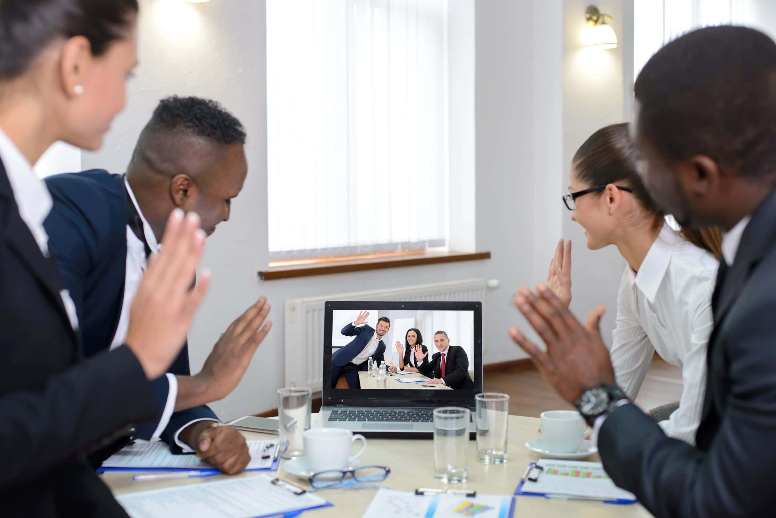 Teammeeting als Videokonferenz