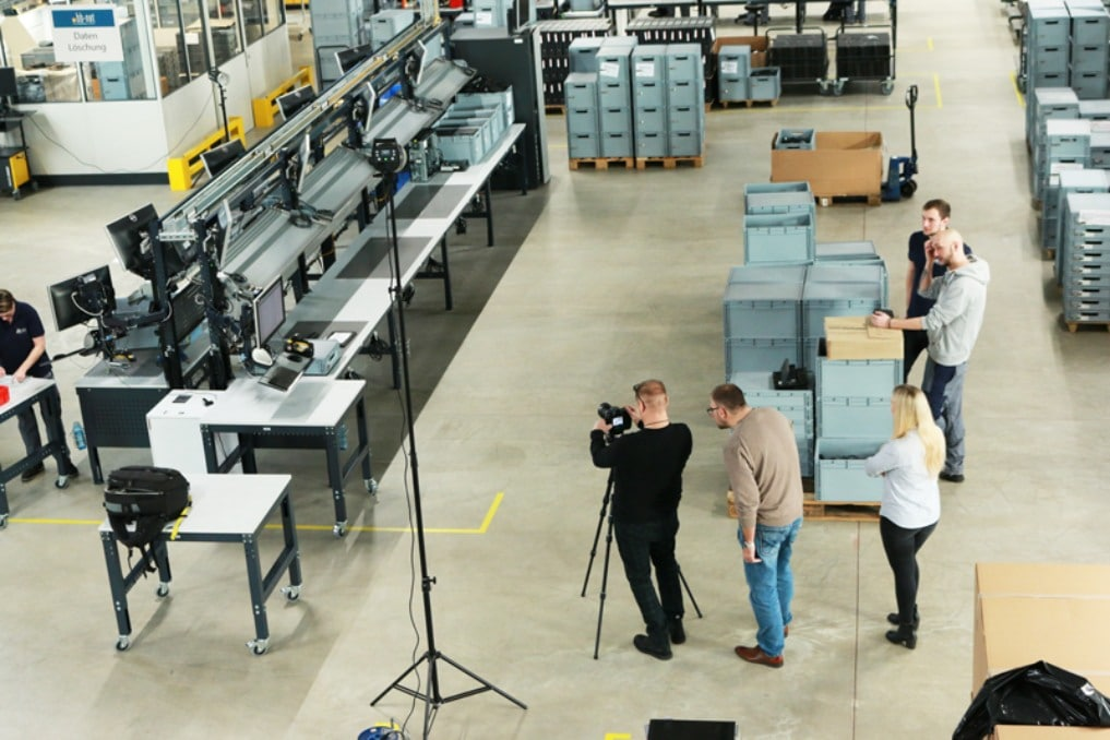 Fotoshooting Technologiecenter