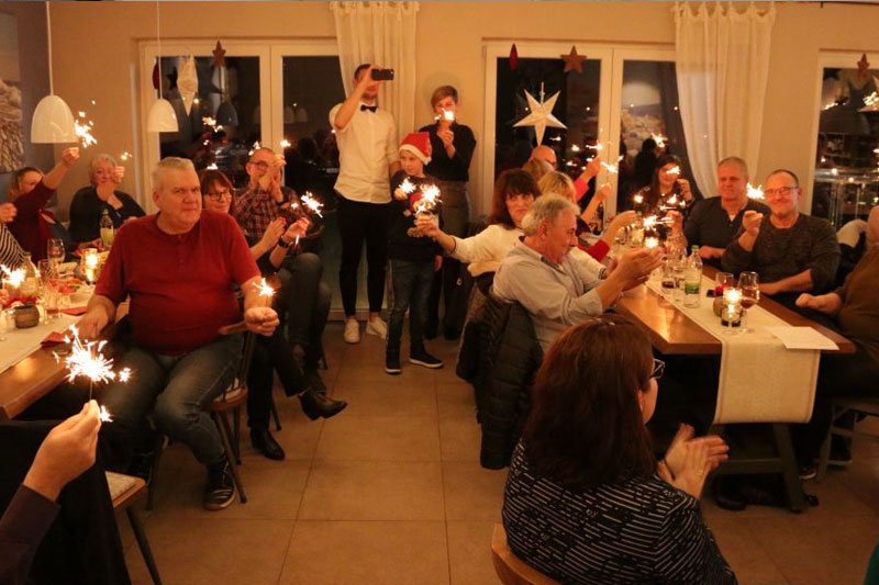 bb-net Weihnachtsfeier Team