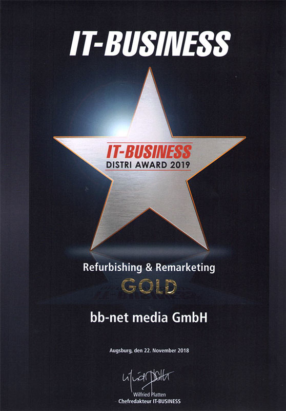 IT BusinessDistri Award 2019