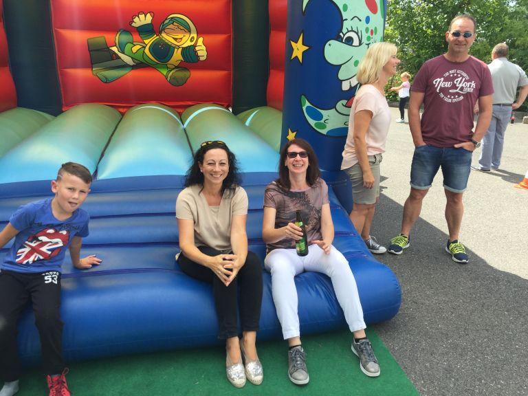Sommerfest Huepfburg