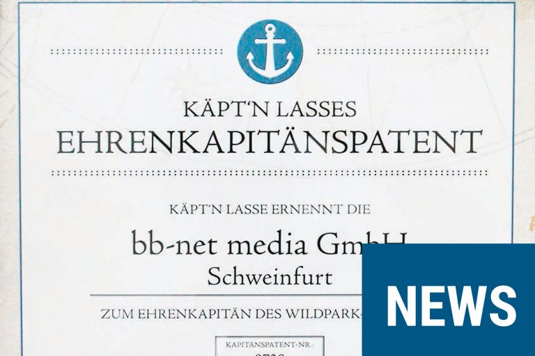 Wildpark Schweinfurt Ehrenkapitaen