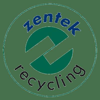 Logotipo de reciclagem da Zentek
