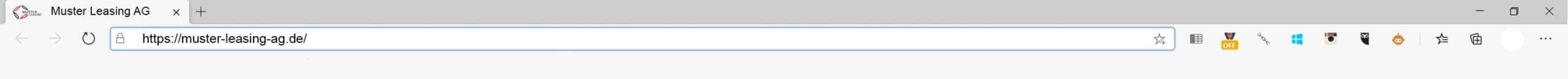 Browserleiste