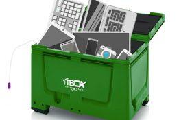 Elektromüll, der zum recyceln gegeben werden kann