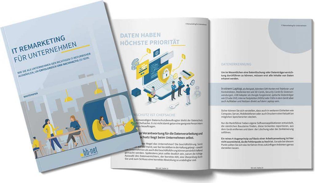 Whitepaper IT-Remarketing für Unternehmen Booklet