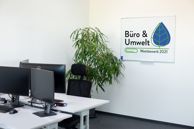 Sponsor Wettbewerb Büro & Umwelt 2021