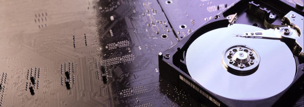 Header Hardware Festplatte Ssd